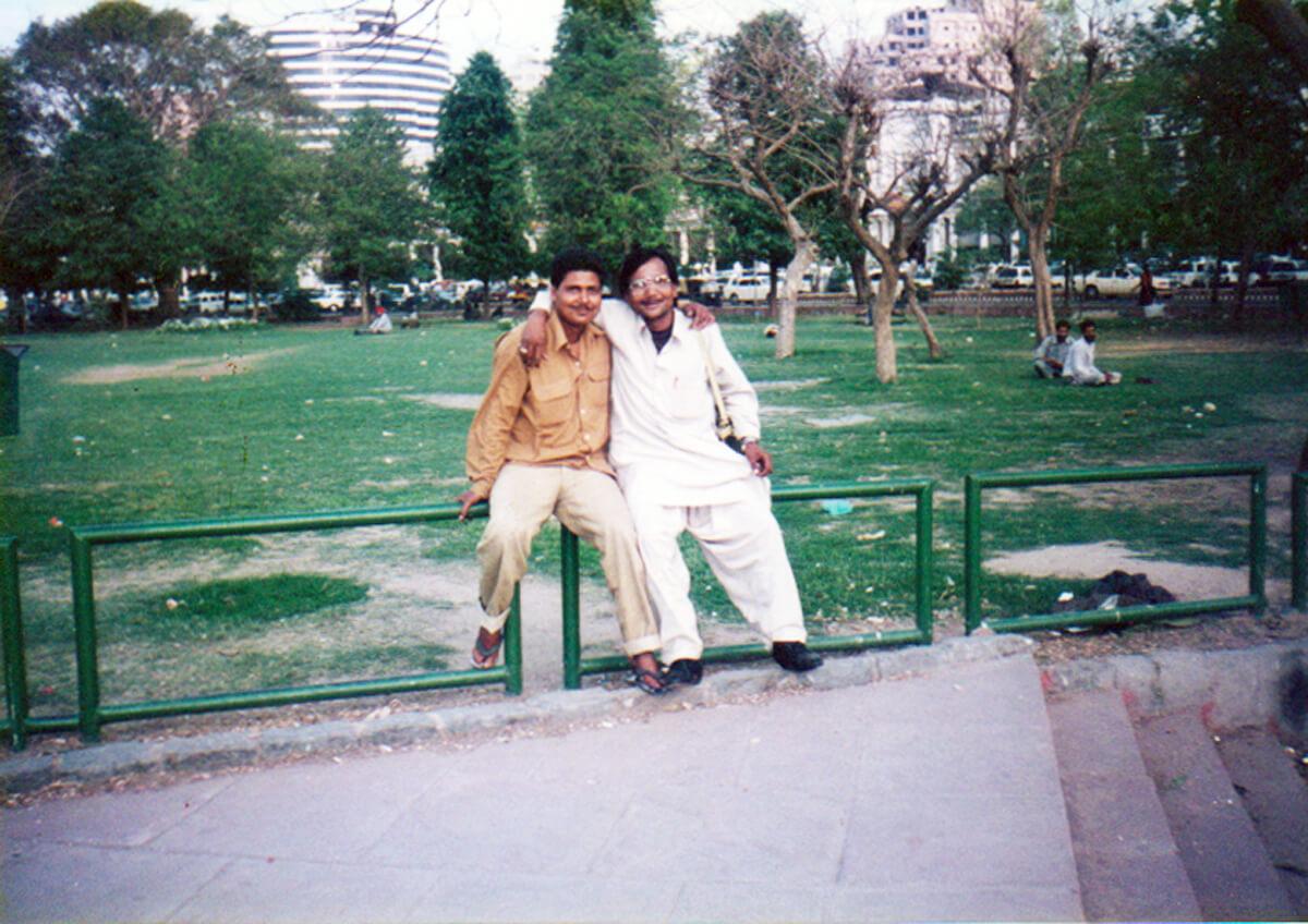 インドで出会った2人のインド人