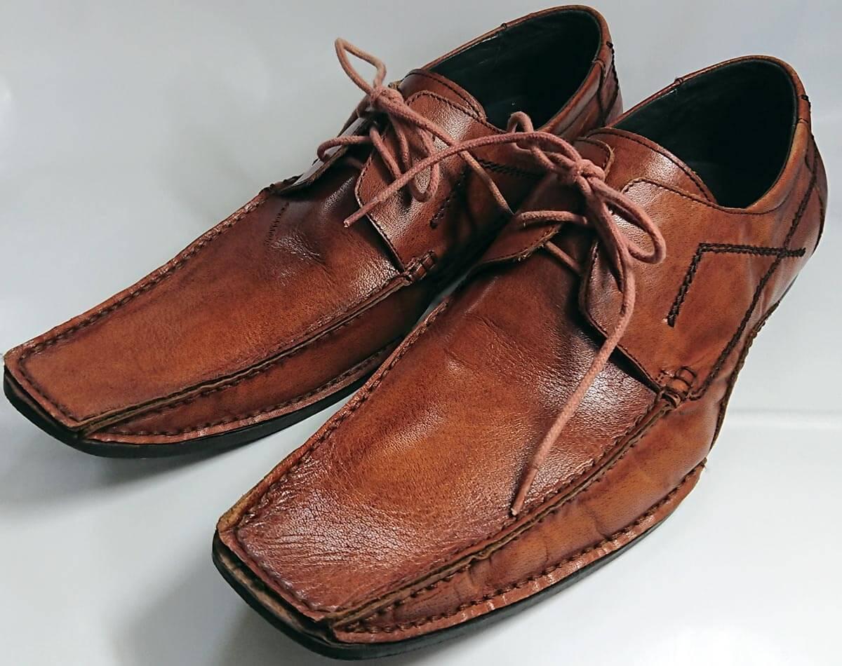 タイの革靴ってどうなんじゃろ?格安・頑丈【体験談】